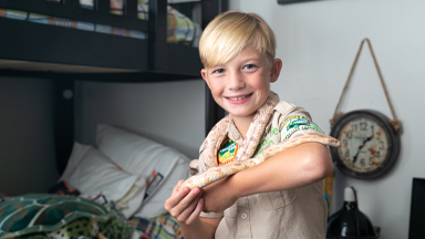 CRIKEY! 10-Year-Old Reptile Fan Bitten By Pet Snake