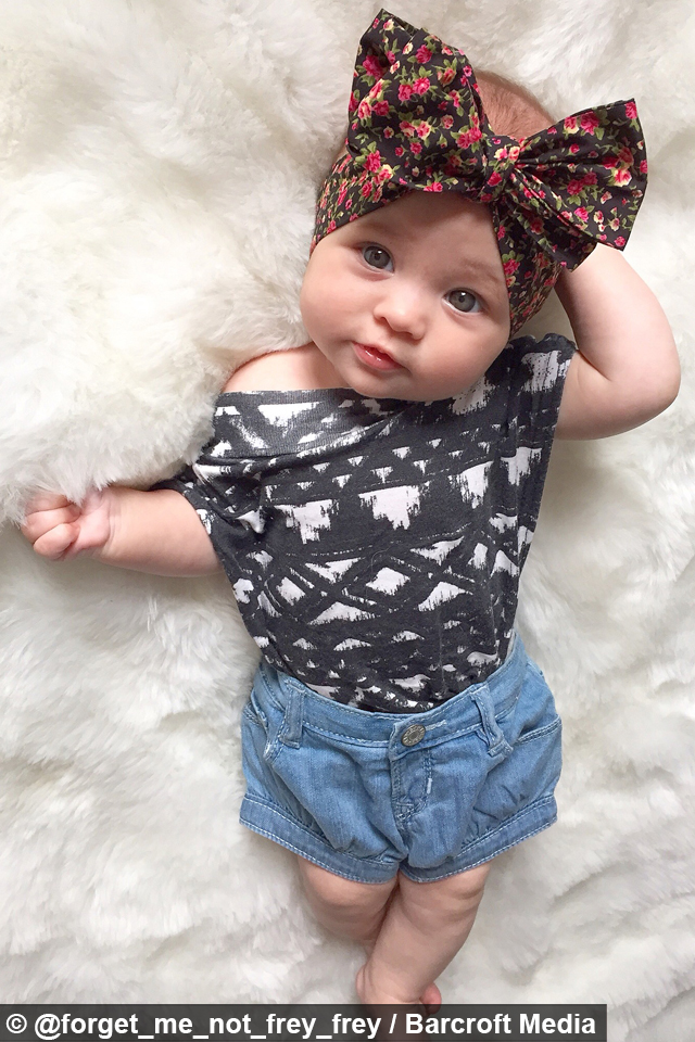 Instagram S Best Dressed Baby Fashion Forward 8 Month Old