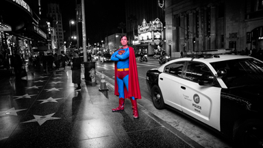 Homeless Hero: Real-Life Superman Has Lost His Fortress of Solitude