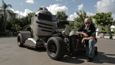 'Mad Metal Scientist' Builds $200K Helmet Hot-Rod