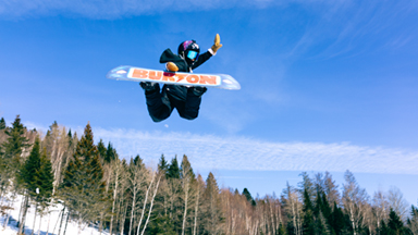 10-Year-Old Smashes Snowboarding Records