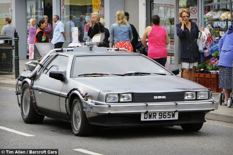 GREAT SCOTT! Back To The Future Superfan Owns Real-Life ...