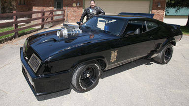 Movie Fanatic Builds Replica Of Iconic Max Mad Interceptor