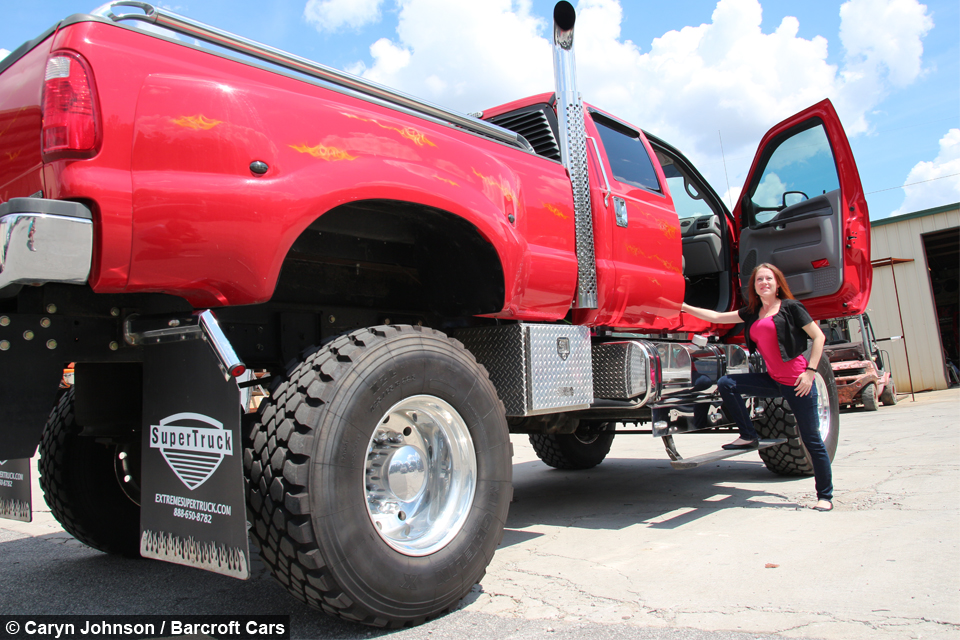 Monster Cars And Trucks >> Extreme Super Truck: The Kings Of Customised Picks Ups