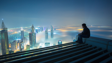 City In The Clouds: Incredible Cityscapes Of Dubai From Above