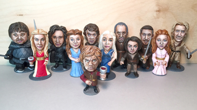 Nuts of Westeros: Peanut Artist Creates Game of Thrones Cast