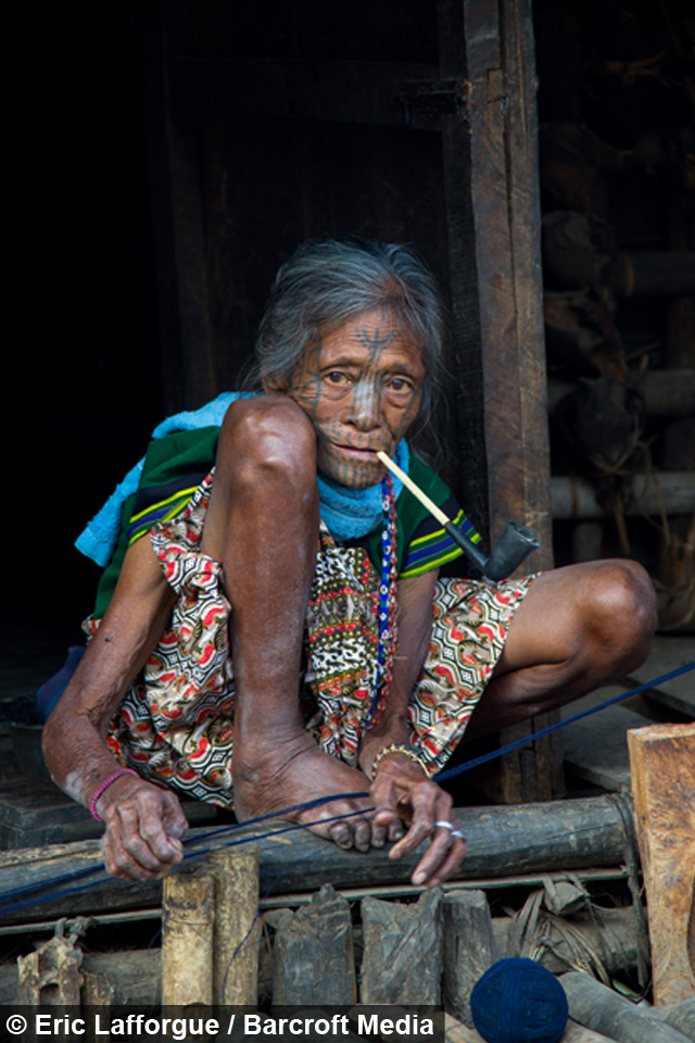 Inside the burmese tribes of tattooed women for Tv show with tattooed woman