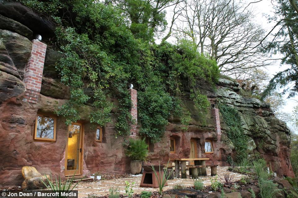 Rock Solid: Man Spends £160,000 Building Flintstones-Style Cave House