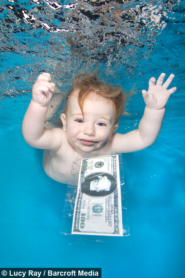 2d50ffb5dbc51 Water Babies: Kids Take The Plunge For Underwater Shots
