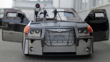 Death Race replica: Film fanatics build car from popular movie