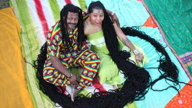 Newly Dreads: Woman With World's Longest Dreadlocks Marries Rasta Hairstylist