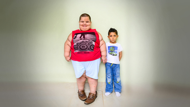12 Stone Five Year Old 'Eating Himself to Death'