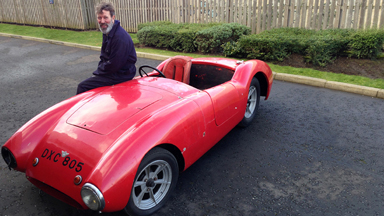 Scottish shoe designer becomes classic car restorer