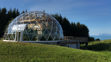 Sub Zero Living: Glass Dome Eco House In The Arctic Circle