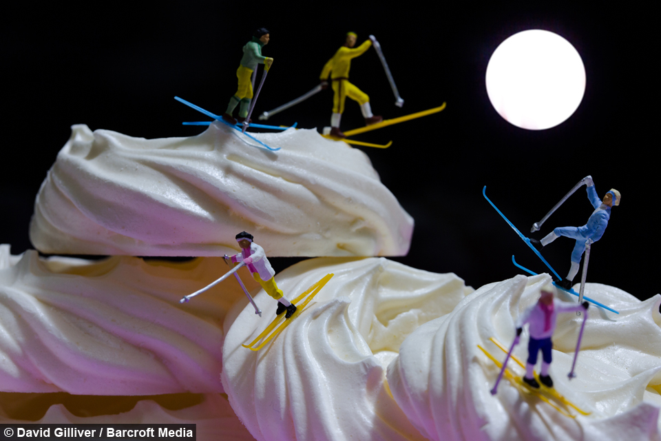 Artist Creates Surreal Scenes Of Little People Doing Big