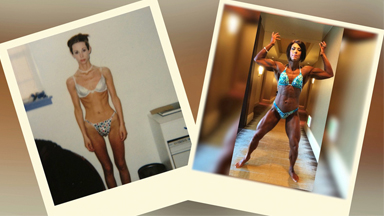Six Stone Bulimic Woman Transforms Into Huge Bodybuilder