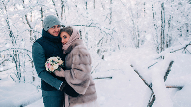 Ultimate Winter Wedding: Russian Couple Say I Do in -17°F weather