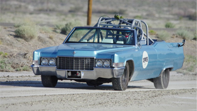 World's Fastest Hot Tub: Water-Filled Cadillac Attempts Land Speed Record