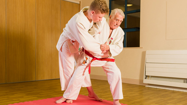 Sensei-tional Grandpa: 92-Year-Old Jack Is Britain's Oldest Judo Teacher