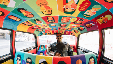 Pimp my ride: Mumbai taxis are transformed and given creative makeovers