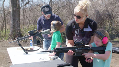 Concealed Carry Mom Training Her 7 Kids To Shoot