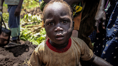 South Sudan Child Refugees Flee Violence Alone