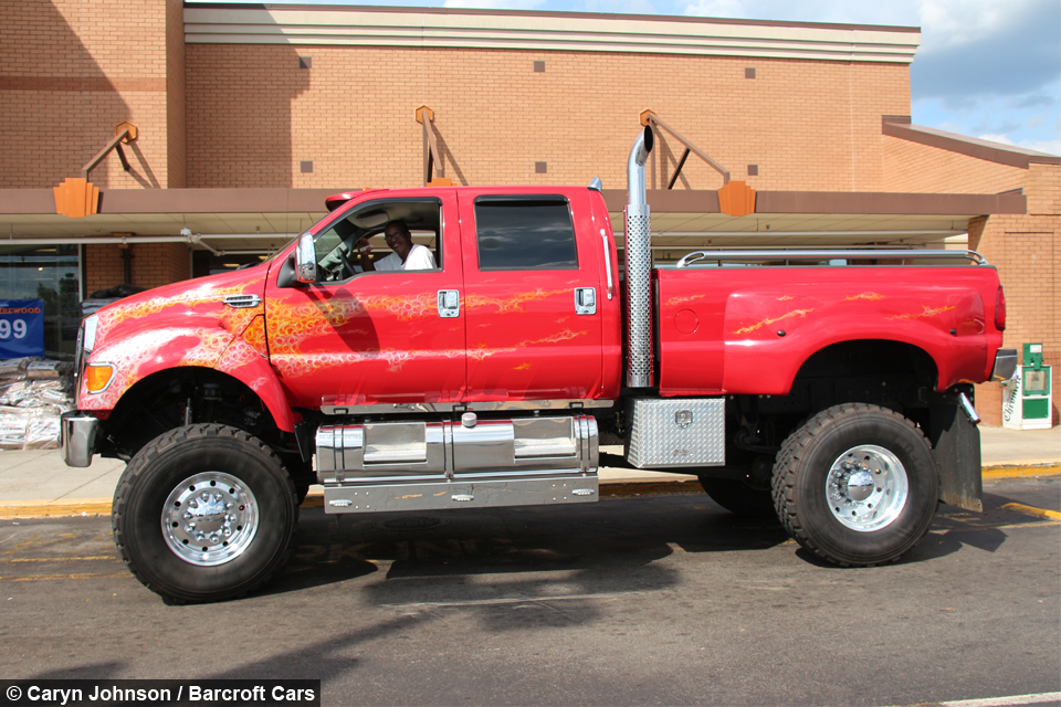 Extreme Super Truck: The Kings Of Customised Picks Ups