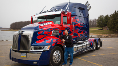 World's First Fan-Built Optimus Prime
