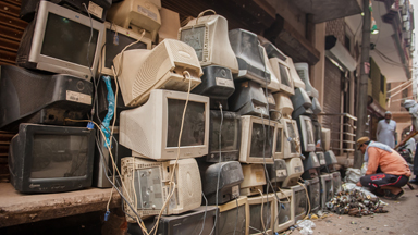 Inside India's largest collection of electronic waste