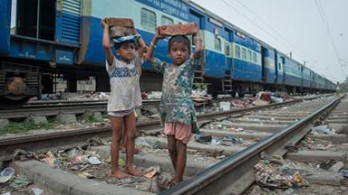 Inside The Lives Of Delhi's Railway Slums