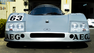 Mercedes Fan Builds 300KMH C9 Sauber