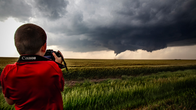 The 7-Year-Old Storm Chaser