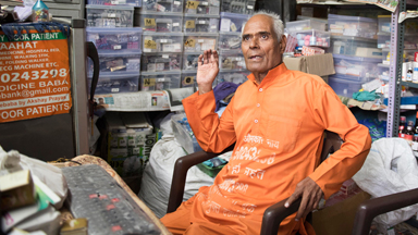 Just What The Doctor Ordered: New Delhi's 'Medicine Baba' Offers Free Treatment To The Poor