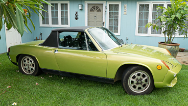 1973 Porsche 914 Becomes Electric Supercar