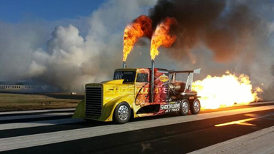 Shockwave - The Worlds Fastest Jet Powered Truck