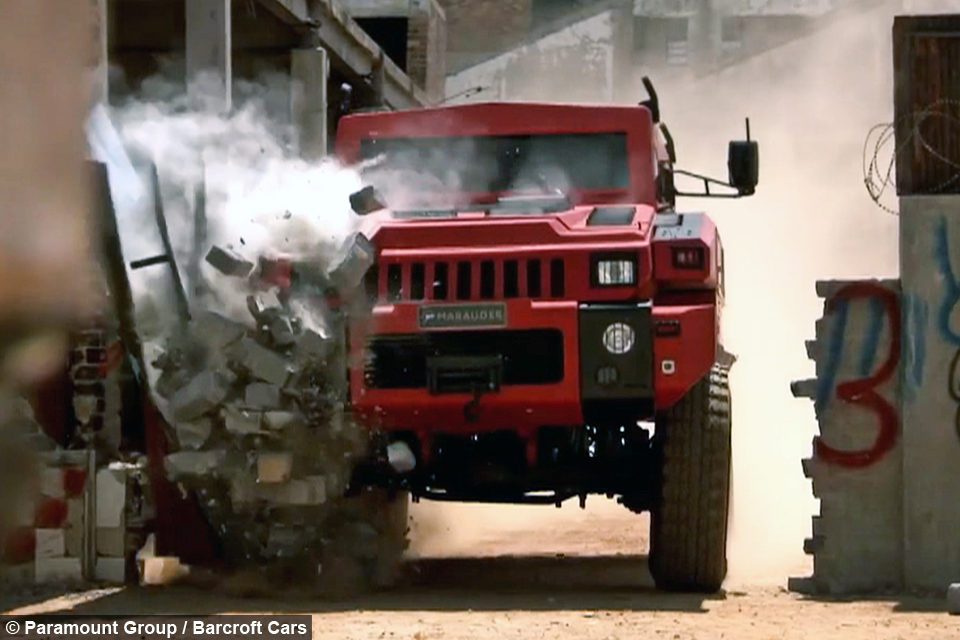 Indestructible' Car Survives Bombs and Drives Through Walls