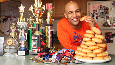 Champion Competitive Eater Is Also An Athlete
