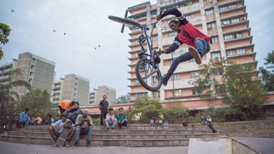 Indian Slum Kid Becomes Insane BMX Champ