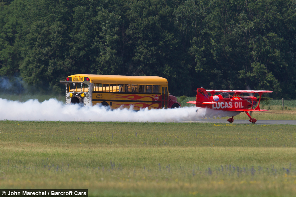 World S Fastest School Bus Hits Speeds Of 367mph