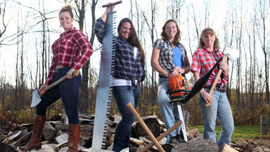 Axe Women: Meet the Lumberjills of America