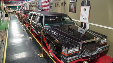 Inside Trump's 'World's Most Luxurious Limo'