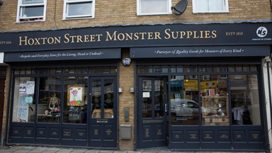 Store Crazy: London's Monster Supplies Shop