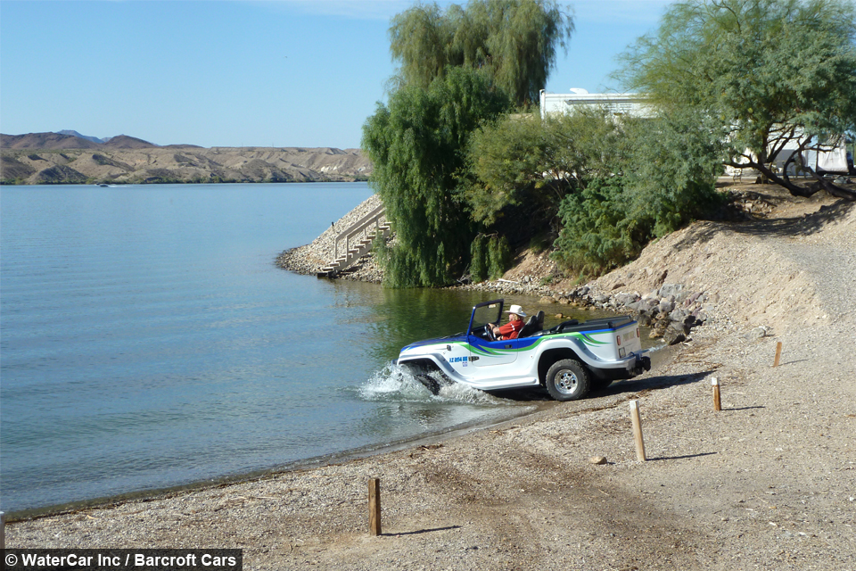 Watercar Amphibious Vehicle Can Switch From Car To Boat In 15 Seconds