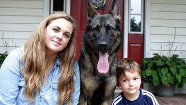 SUPERPOWER DOGS: Loyal German Shepherd Helps Family With The Chores