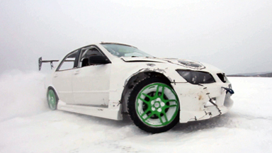 Childs Play: DRIFT Team Celebrate End Of Season on Frozen Lake