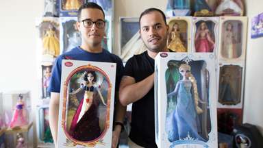 Couple spent $60,000 on Disney Dolls