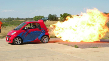 World's First Jet-Powered Smart Car