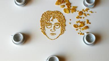 Cereal-ism: Famous Faces Made Out of Breakfast