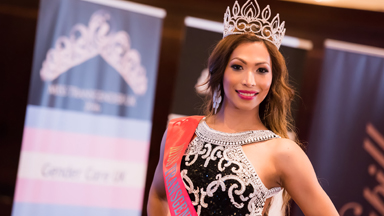 Pageant Queen: Miss Transgender UK is crowned
