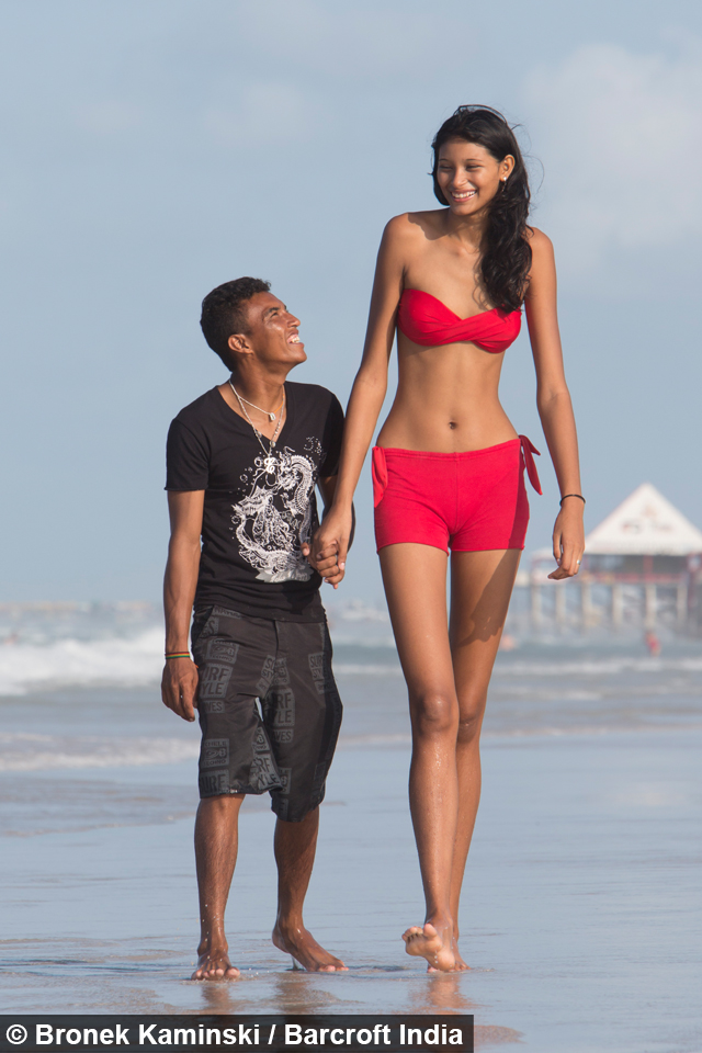 taller girl short boy